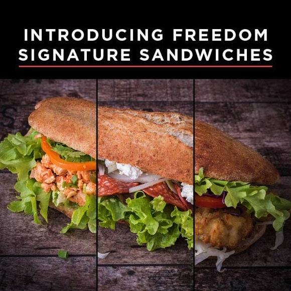 Sandwiches  web popup