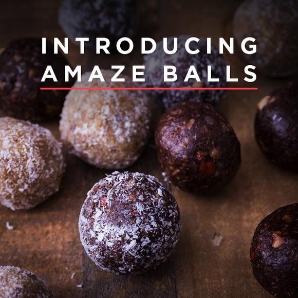 Amaze balls pop up banners