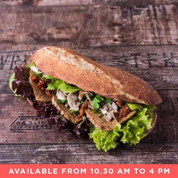 Freedom vegantartina sandwich af